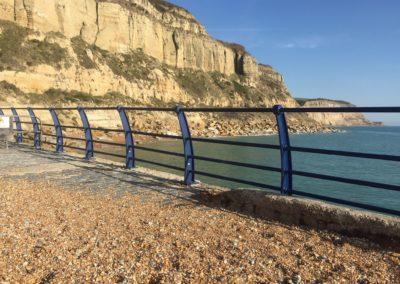 Hastings seafront railings