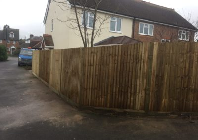 3 of 3 - replacement fence, another angle